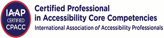 IAAP Certified Professional in Accessibility Core Comperencies